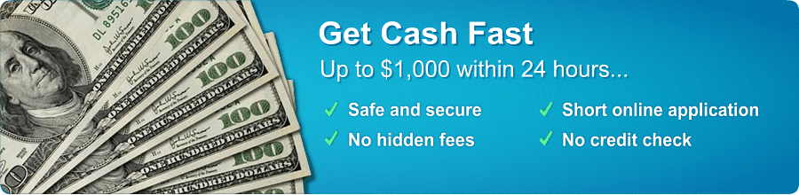 Cash Advance / Payday Loan Services
